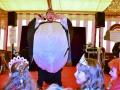 Kindernachmittag der Seegusler in ihrem Jubiläumsjahr 40 - Patrick Aufdermauer Ex-Major der Städerschränzer führt durch das Programm