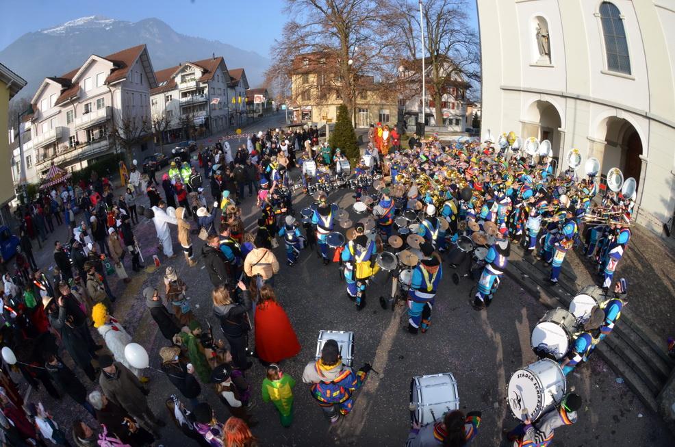 Kinderfasnacht Alpnach 2015