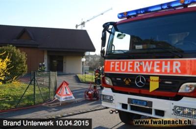Einsatz im Stad im April 2015 (Bild Feuerwehr)